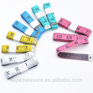 150cm 60 Inch Colorful Custom Logo Soft PVC Sewing Tailor Measure Tape